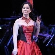 Анна Киселева - солистка Красноярского театра оперы и балета театра